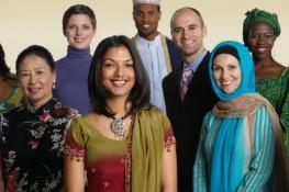 grupo diferentes etnias
