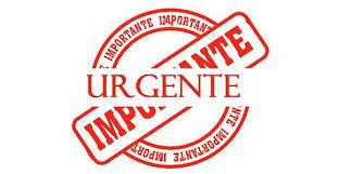 urgente importante